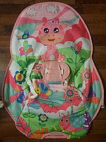Детский шезлонг-качалка iBaby 68147 розовый