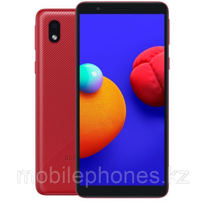 Смартфон Samsung Galaxy A01 Core Красный