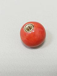 Шарик 1,7 см / коралл (для кольца и браслета СО) ЕВ15