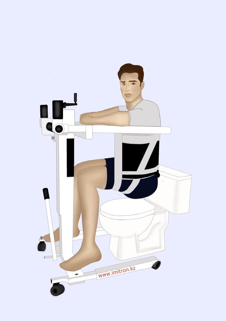 Механический подъемник для инвалидов - фото 1