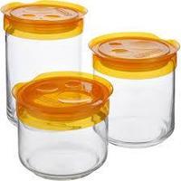 Набор банок для сыпучих Luminarc storing box (3 шт.), фото 1