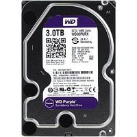 """Жесткий диск HDD 3Tb Western Digital Purple SATA 3 5"""" WD30PURZ"""