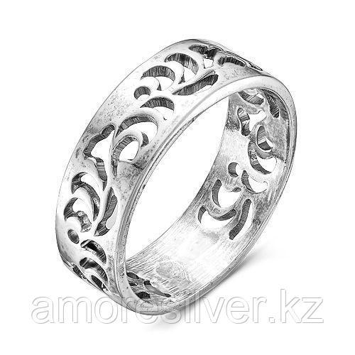 Кольцо Красная Пресня из черненного серебра 2308106