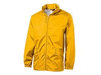 Ветровка Miami мужская с чехлом, золотисто-желтый