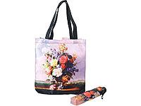 Набор Букет: зонт складной полуавтоматический и сумка для шопинга