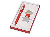 Набор: шариковая ручка, брелок Звезда