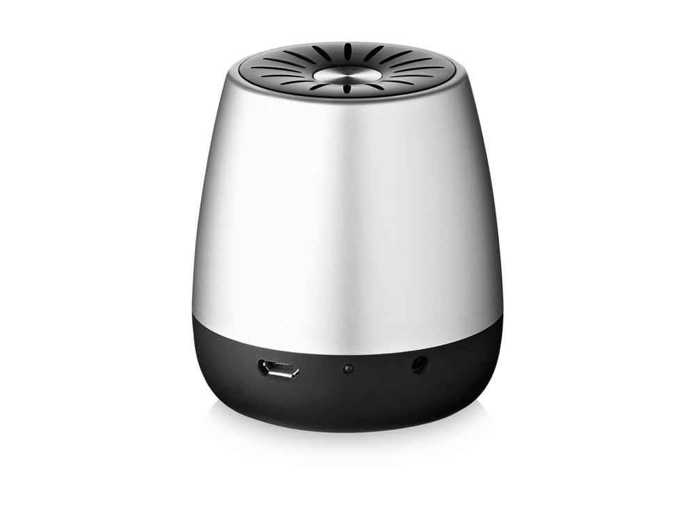 Колонка Padme Bluetooth®, серебристый/черный - фото 2