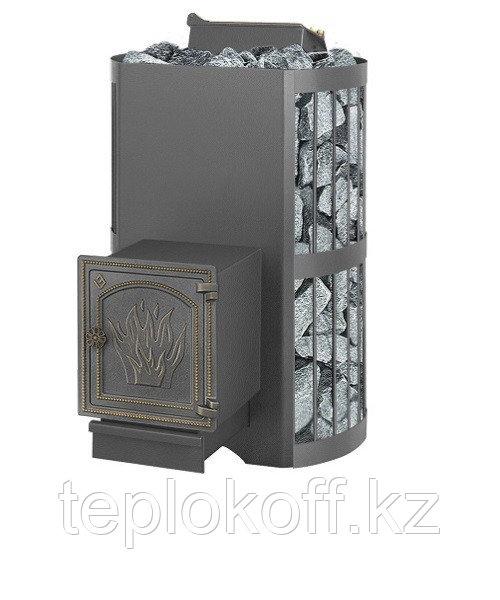 Банная печь ВЕЗУВИЙ Скиф с закрытой каменкой (ДТ-4)