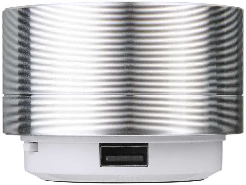 Цилиндрический динамик Bluetooth®, серебристый - фото 3