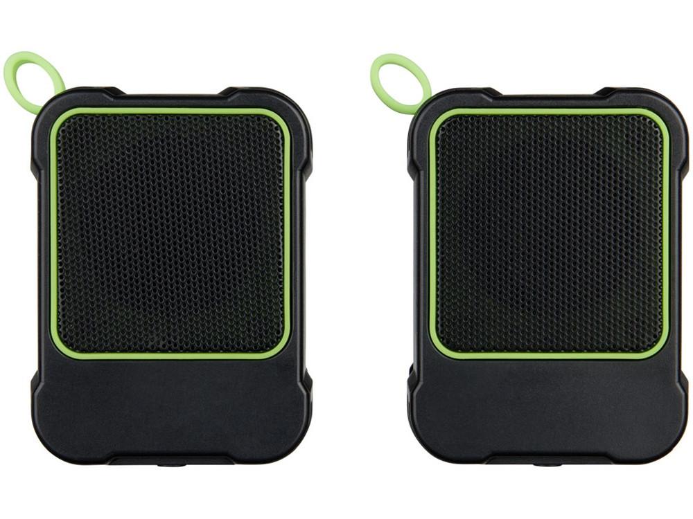 Водонепроницаемые колонки Bond с функцией Bluetooth® для использования на открытом воздухе, лайм - фото 2