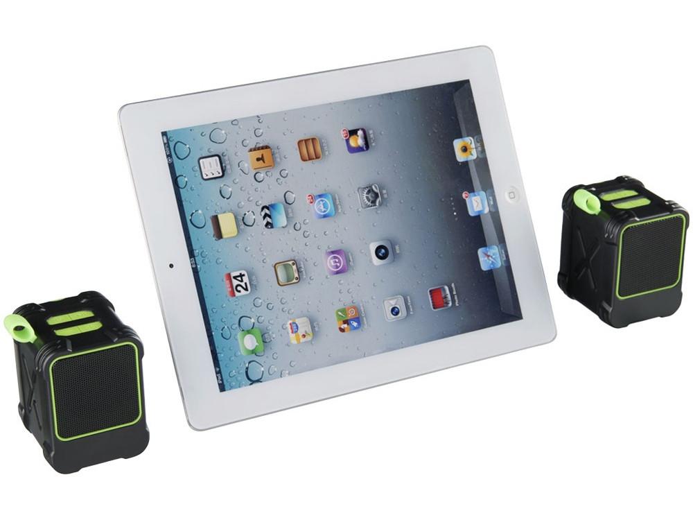 Водонепроницаемые колонки Bond с функцией Bluetooth® для использования на открытом воздухе, лайм - фото 5