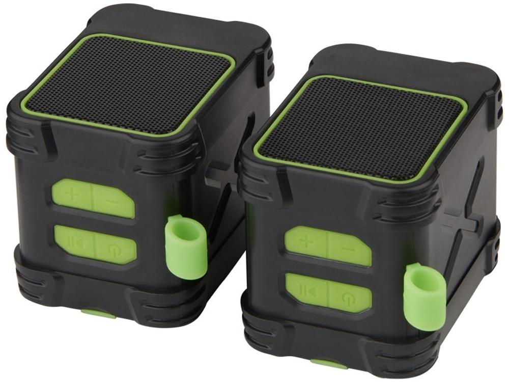 Водонепроницаемые колонки Bond с функцией Bluetooth® для использования на открытом воздухе, лайм - фото 6