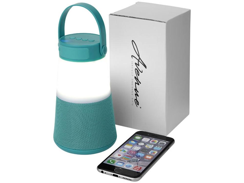 Светодиодная колонка Lantern с функцией Bluetooth®, мятный - фото 1