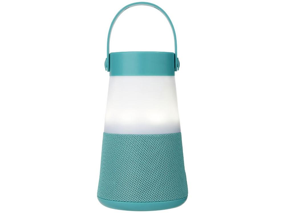 Светодиодная колонка Lantern с функцией Bluetooth®, мятный - фото 2