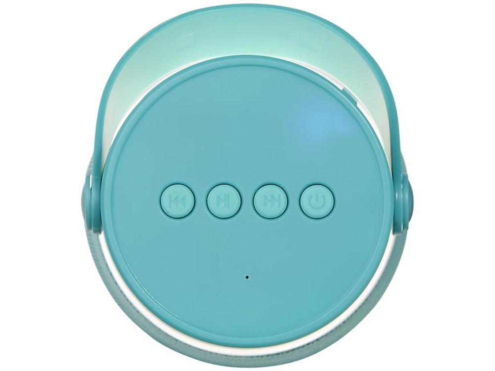 Светодиодная колонка Lantern с функцией Bluetooth®, мятный - фото 5