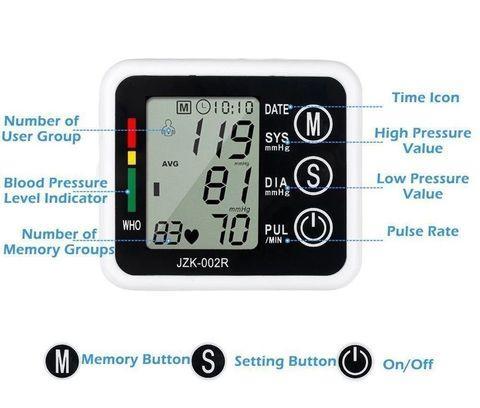 Тонометр осциллометрический цифровой автоматический JZIKI для измерения артериального давления и пульса (на - фото 9