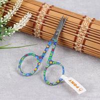Ножницы для вышивания, 9,5 см, цвет МИКС