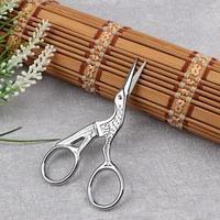 Ножницы для вышивания 'Цапельки', 3,5', 9 см, цвет серебряный