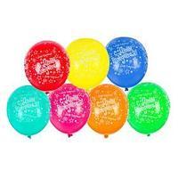 Шар латексный 14' 'С днём рождения! Звёзды', пастель, набор 25 шт., цвета МИКС