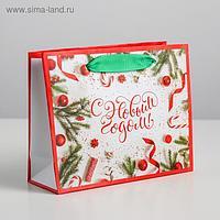 Пакет ламинированный горизонтальный «Атрибуты праздника», S 15 × 12 × 5.5 см