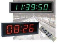 Цифровые часы MOBATIME серии DE уличные