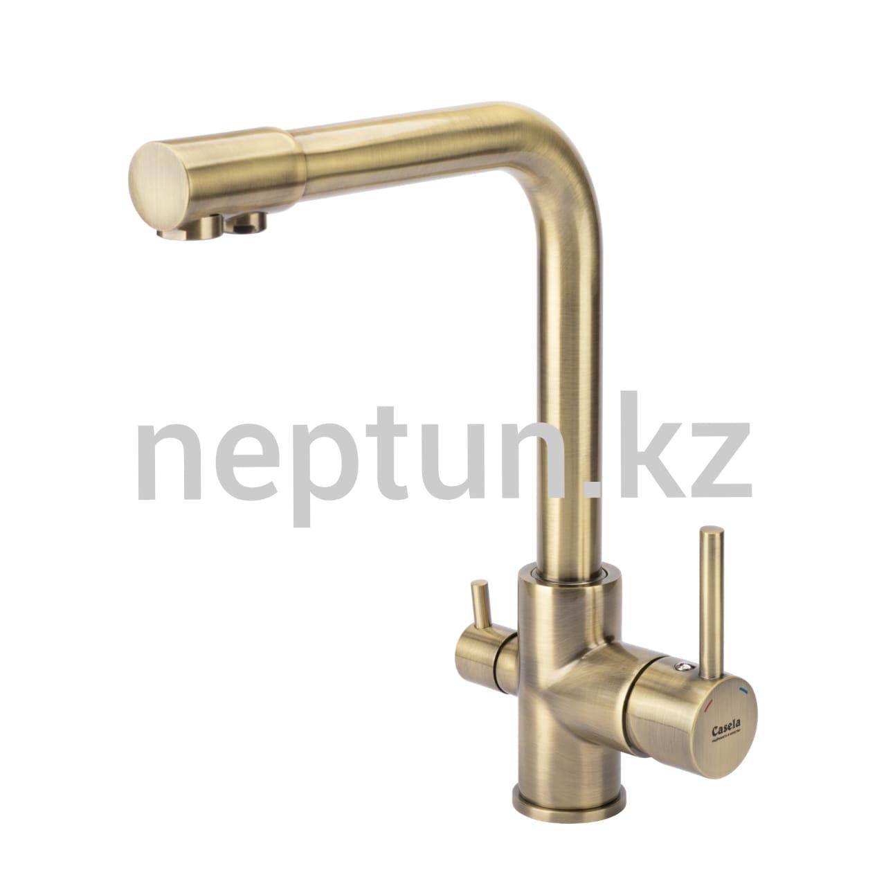 Смеситель для кухни фильтр + вода Casela 54055C-3