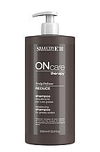 Шампунь для жирной кожи головы Selective Professional Reduce Shampoo 1000 мл.