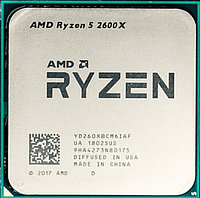 Процессор AMD Ryzen 5 2600X 3,6Гц (4,2ГГц Turbo)