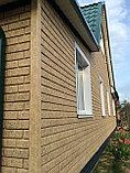 Акриловая Фасадная панель STONE HOUSE (Стоун Хаус) под кирпич, Песочный, фото 4