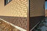 Акриловая Фасадная панель STONE HOUSE (Стоун Хаус) под кирпич, Песочный, фото 7