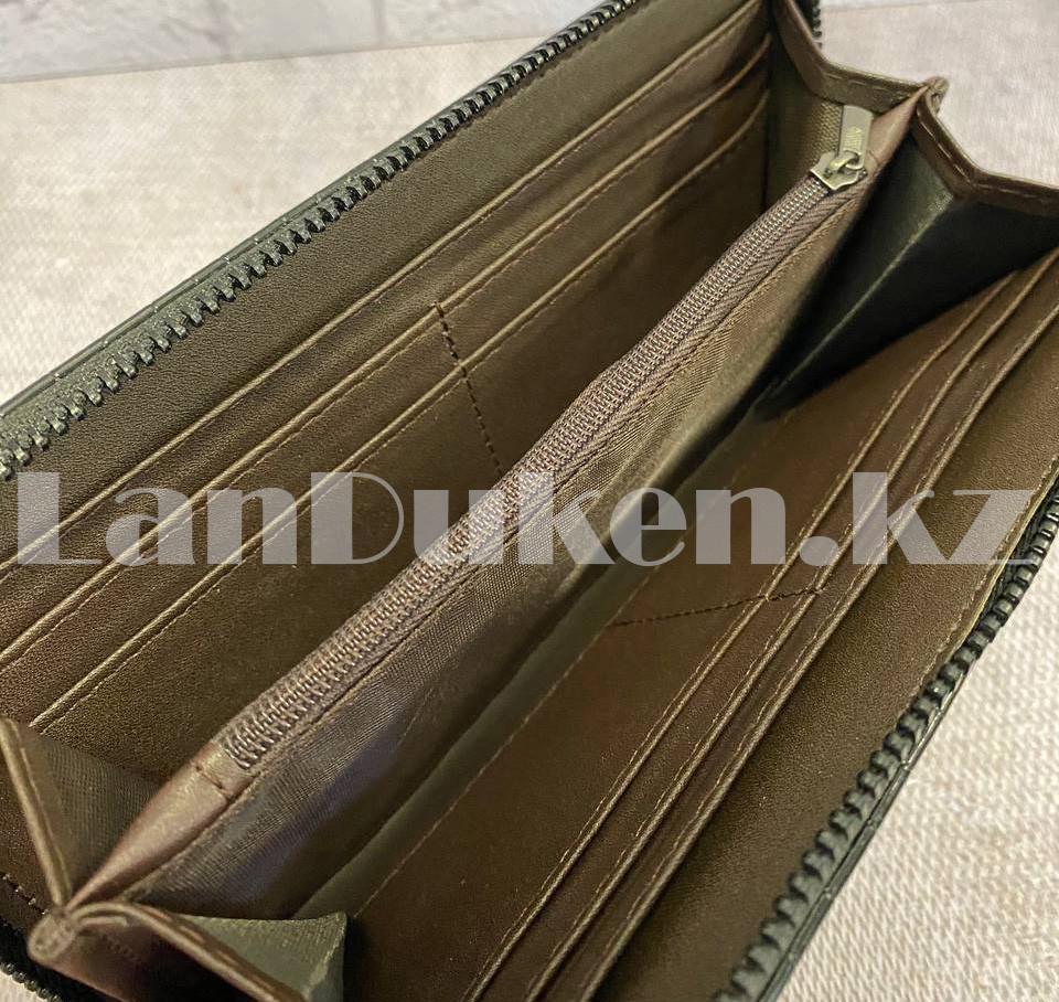 Мужской подарочный набор портмоне ремень туалетная вода Suawage Бокс подарочный для мужчины (черный) - фото 5
