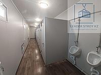 Модульный туалет из 40 фут. контейнера на 8 кабинок, фото 1