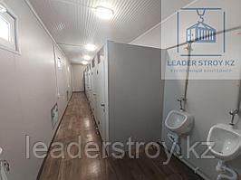 Модульный туалет из 40 фут. контейнера на 8 кабинок