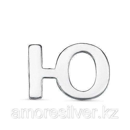Подвеска TEOSA серебро с родием, без вставок, буква 3000-3059