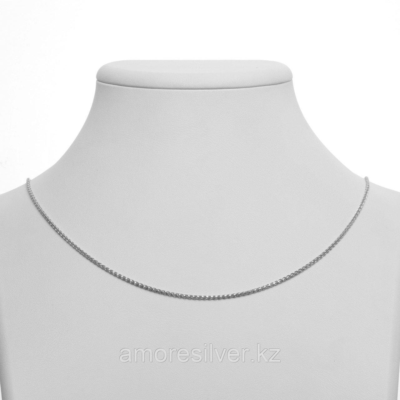 Цепь  серебро с родием, фантазийная,  SPT EVD193-045-55 размеры - 55