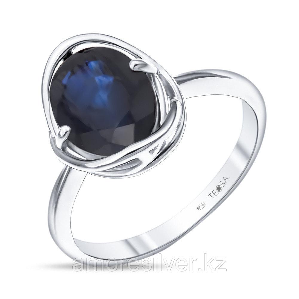 "Кольцо TEOSA серебро с родием, сапфир, ""каратник"" R-DRGR00781-SP"