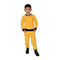Спортивный костюм детский, желтый (128 см), фото 1
