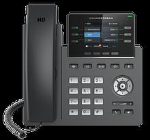 Grandstream GRP2613 IP телефон 3 SIP аккаунта, 6 линий, цветной LCD, PoE, (1GbE)Gigabit Ethernet, 24 virtualBL
