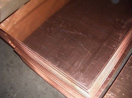 Медный лист 1мм М1