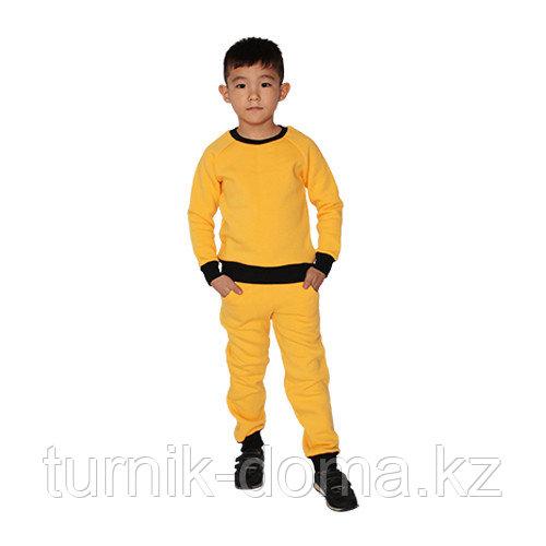 Детский спортивный костюм (тройка) 128см - фото 6