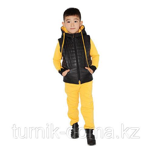 Детский спортивный костюм (тройка) 128см - фото 4
