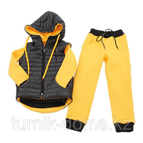 Детский спортивный костюм (тройка) 128см - фото 1
