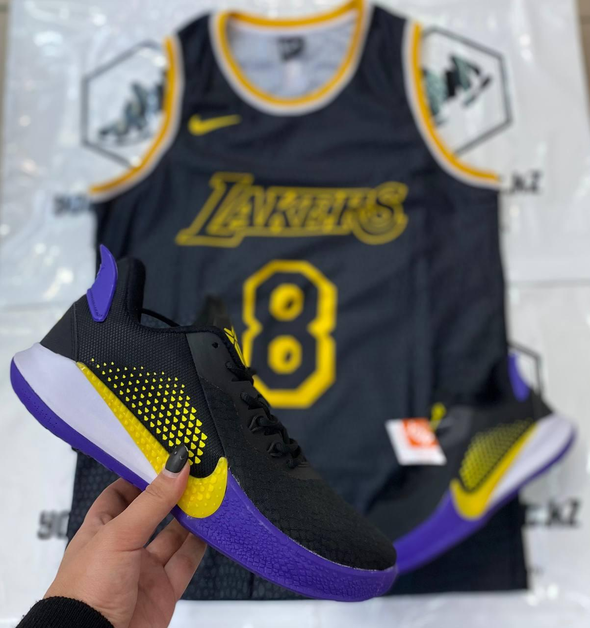 Баскетбольные кроссовки Nike Kobe Mamba Fury