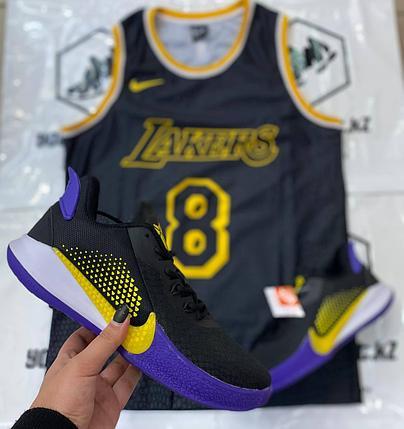 Баскетбольные кроссовки Nike Kobe Mamba Fury, фото 2