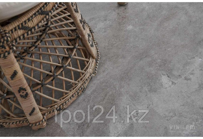 Виниловая плитка замковая VINILAM CERAMO VINILAM Stone 61605 Сланцевый Камень