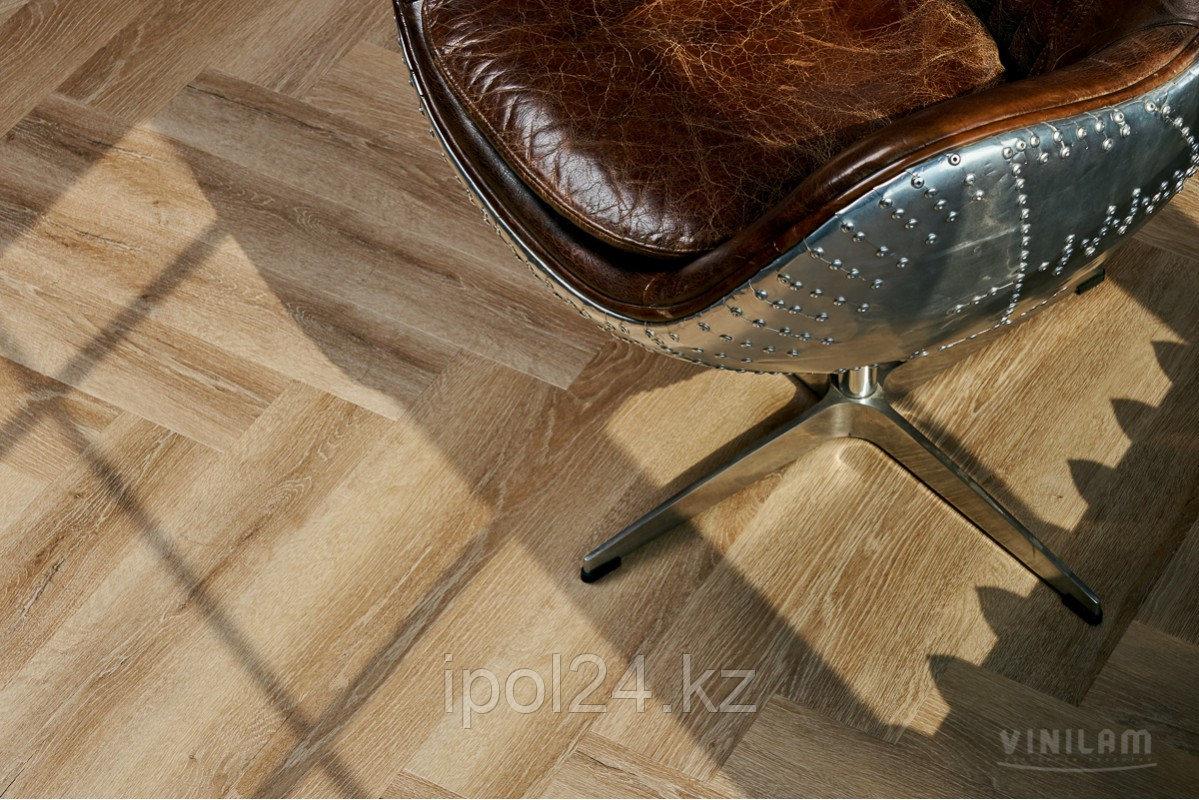 Виниловая плитка замковая VINILAM PARQUET Herringbone IS11166 Классический Паркет