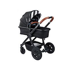Коляска детская 2 в 1 Happy Baby MOMMER, цвет black
