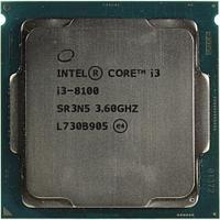Процессор Intel Core i3 8100 3,6 GHz