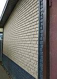 Акриловая Фасадная панель STONE HOUSE (Стоун Хаус) под кирпич, Бежевый, фото 4