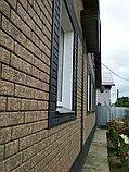 Акриловая Фасадная панель STONE HOUSE (Стоун Хаус) под кирпич, Бежевый, фото 6